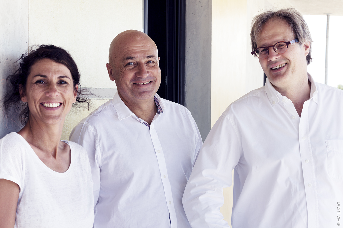 Solveig Orth, François Roux et William Pivetta